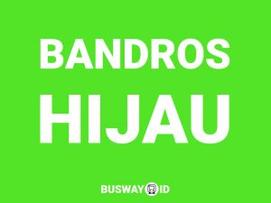 Bus Bandros Hijau