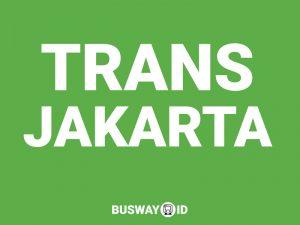 Peta lokasi halte Trans Jakarta