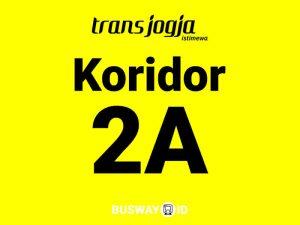 trans jogja koridor 2A