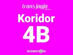 trans jogja koridor 4B